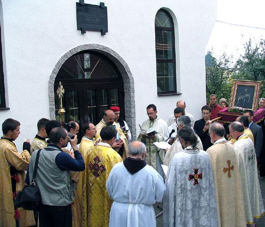 Blagoslovljena grkokatolička crkva u Uskočkoj ulici
