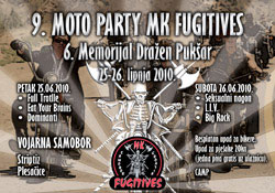 9. MOTO PARTY MK FUGITIVES i 6. MEMORIJAL DRAŽEN PUKŠAR